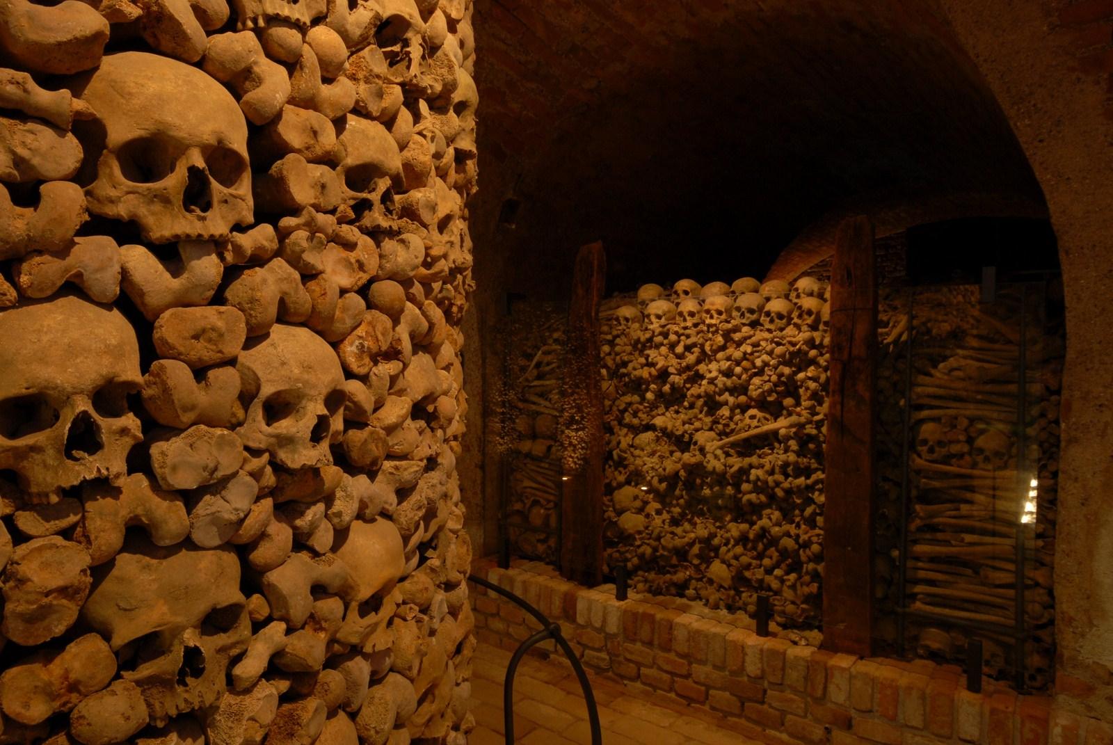 Catacombs and Monastery of San Francisco, Lima, Peru
