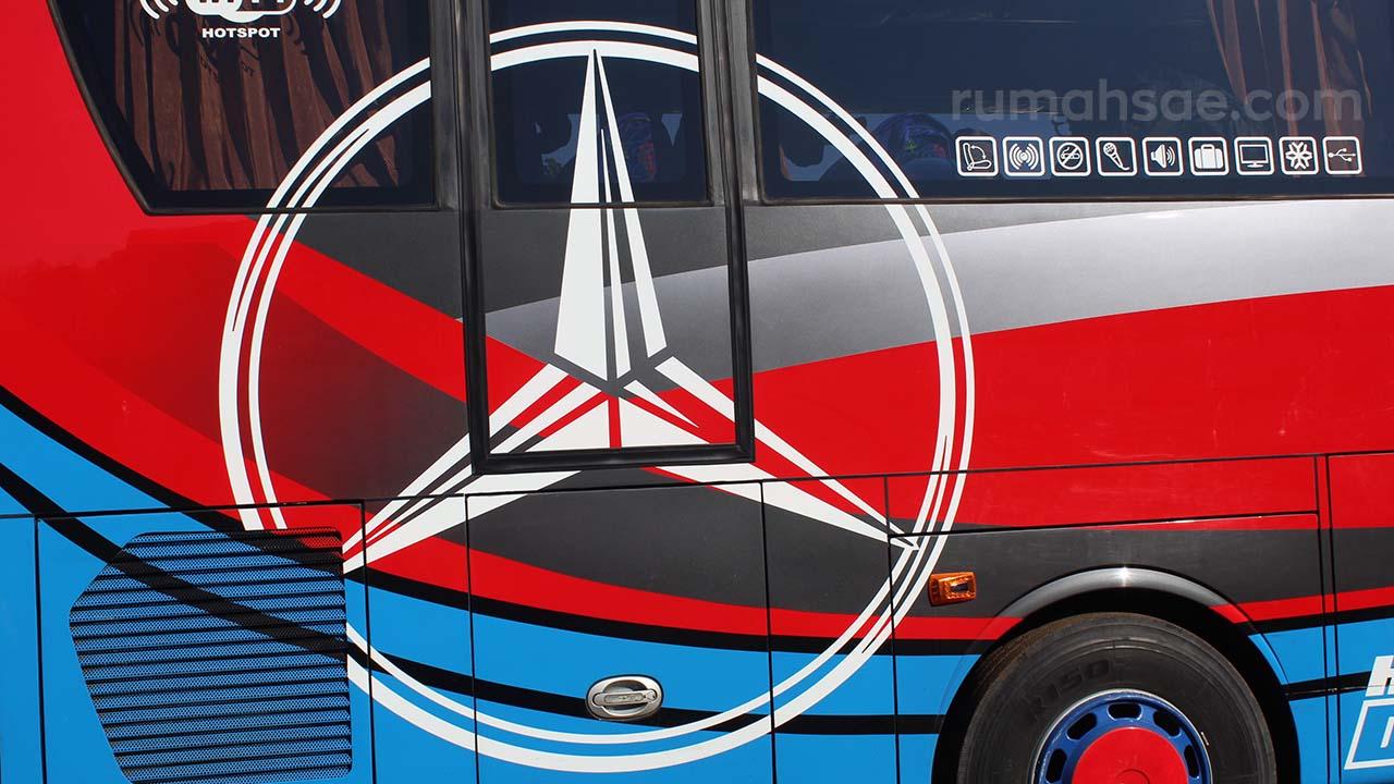 4 Jenis Bus Pariwisata Menurut Kapasitas Tempat Duduknya