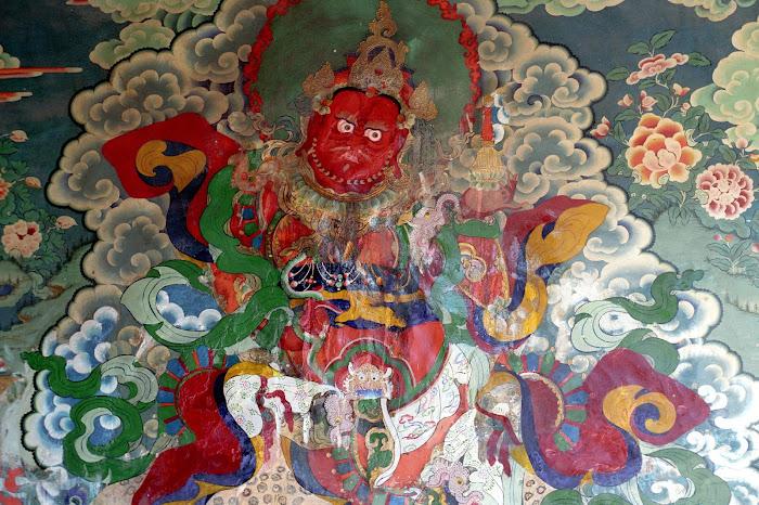 Tibet, Gyantse, Palkhorchöde, Samsara, © L. Gigout, 1990