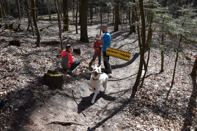 Weisshauswald Trailbau, MTB Verein Trier