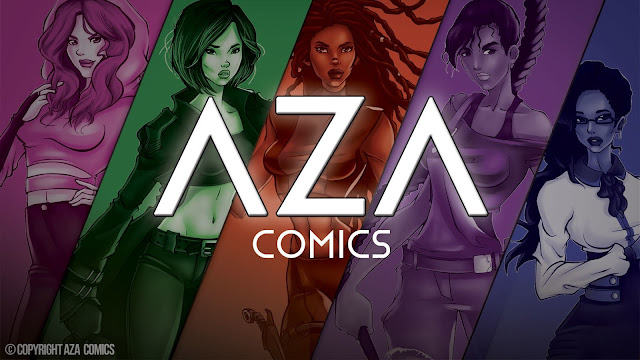 Aza Comics Superheroes, The Keepers, Help Relieve Cabin Fever