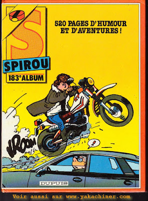 Recueil Spirou 183 (second double)