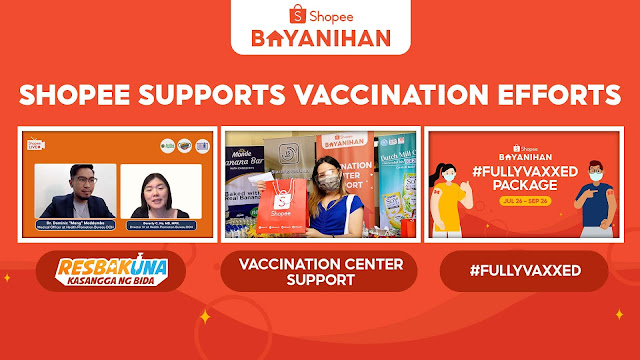 Shopee Supports Vaccines