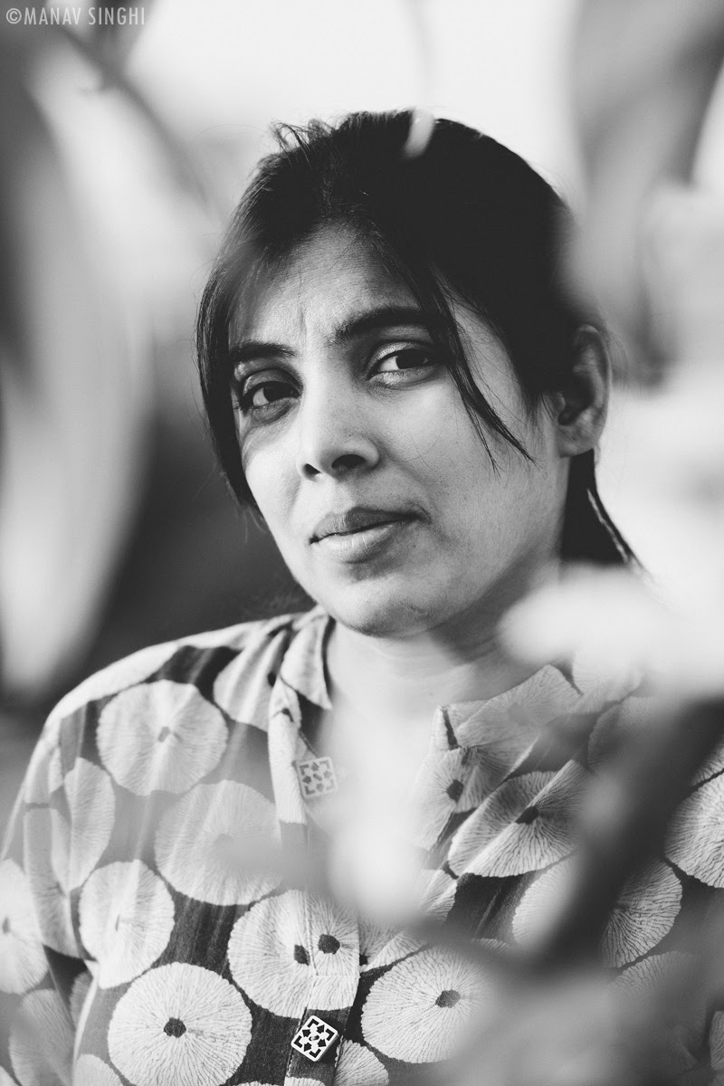 CoronaVirus Pandemic - Lockdown and 10 Black and White Portraits of My Wife, Jaipur.