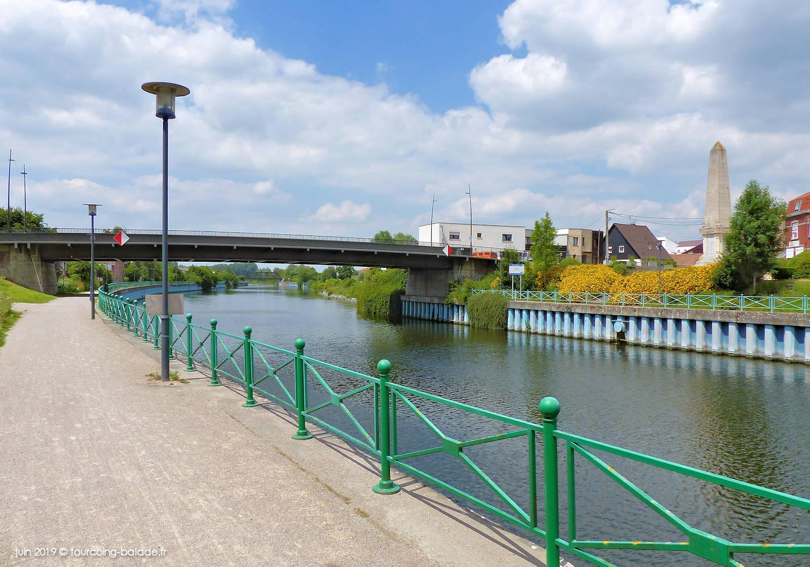 Pont Belle-Croix, Quesnoy-sur-Deûle