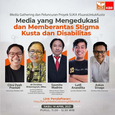 Media Gathering dan Peluncuran Proyek #SUKA Suara Untuk Indonesia Bebas Dari Kusta