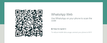 QR Code في واتساب ويب