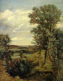 lukisan naturalisme john constable: dedham vale (1816)