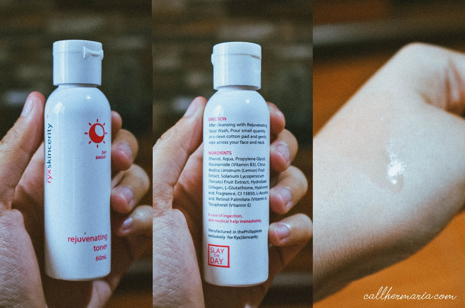 Ryx Skincerity Rejuvinating Toner Review