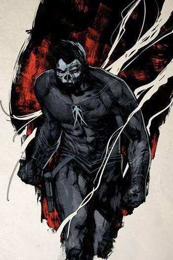 Superhéroe negro Valiant