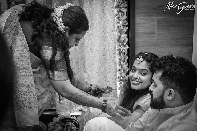 The true beauty of a bride lies in the eyes of the groom❤️
