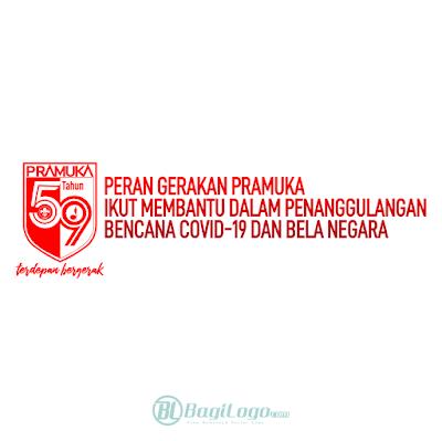 Logo Hari Pramuka ke 59 (2020) Vector cdr