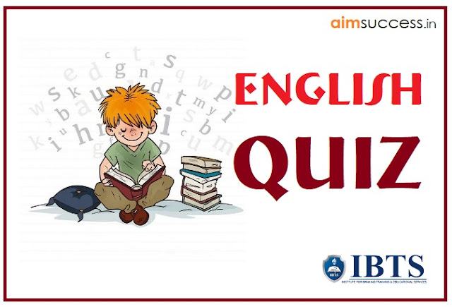 English MCQ for SBI PO 2018: 25 April