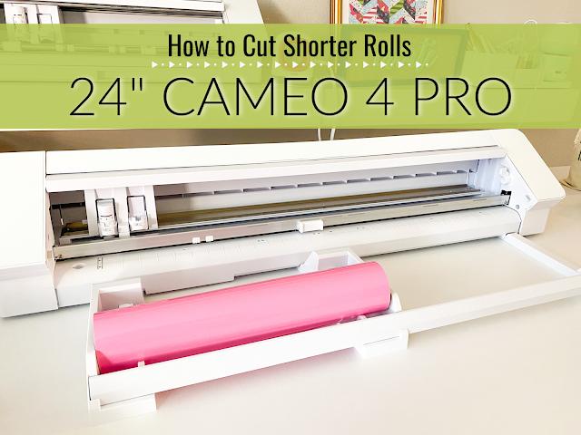 "silhouette 101, silhouette america blog, 24"" silhouette pro, cameo 4 pro, vinyl rolls"