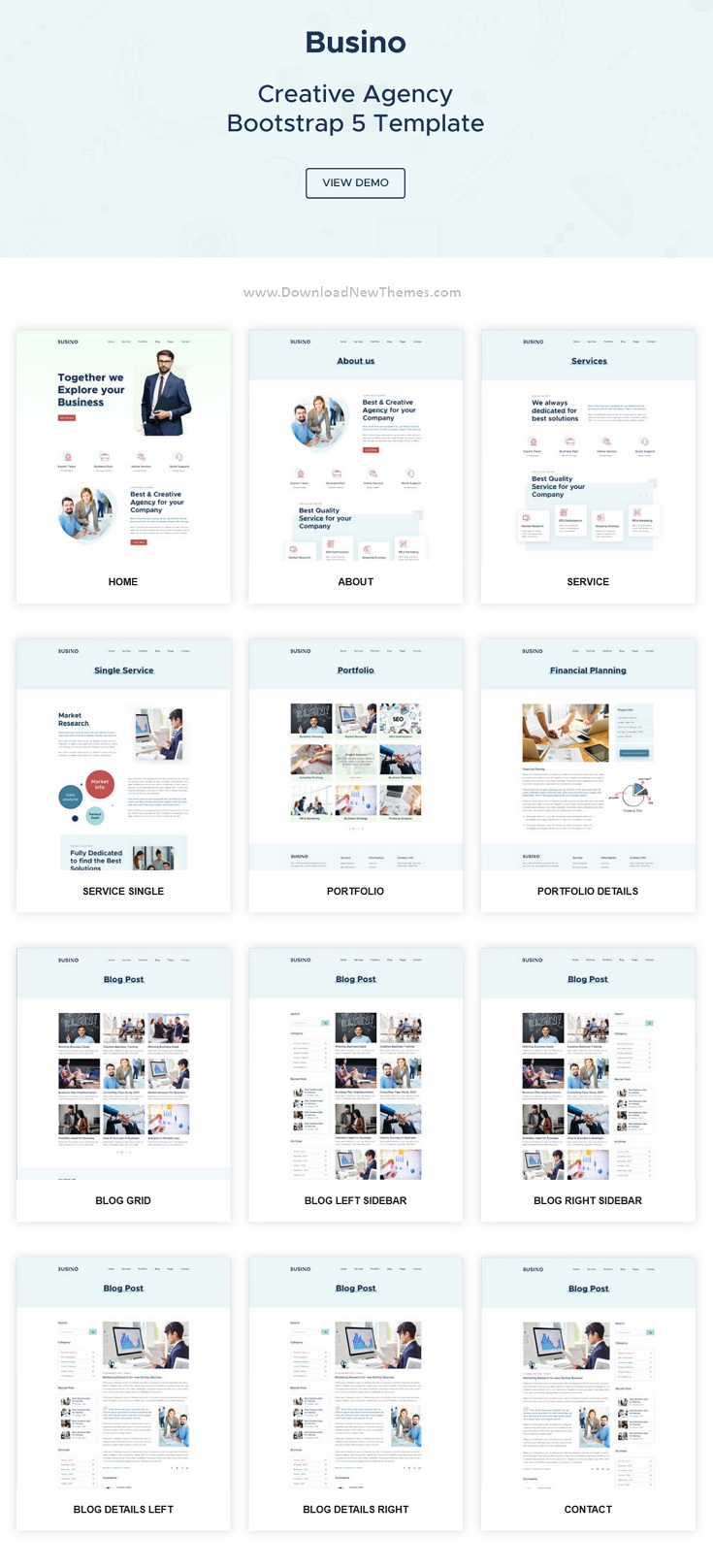 Creative Agency Bootstrap 5 Template