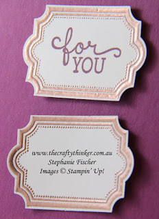 Heat embossing on Basic Black Archival ink, #thecraftythinker, #stampinup