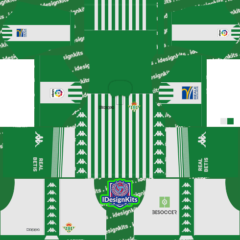 Real Betis 2019 2020 Kits Dream League Soccer Kits Idesignkits