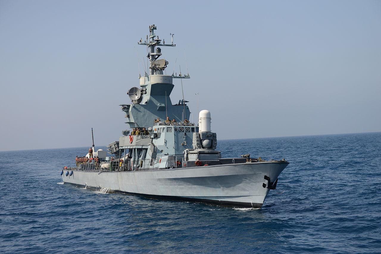 Корвет Israel Shipyards SAAR S-72