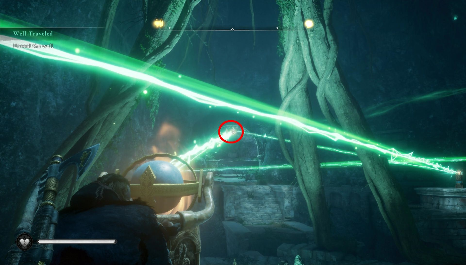 Assassin's Creed: Valhalla. Solving the puzzle with rays and mirrors screenshot 2