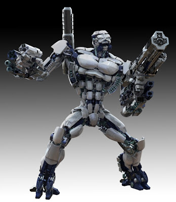 Christopher's Artwork: Killer Robot