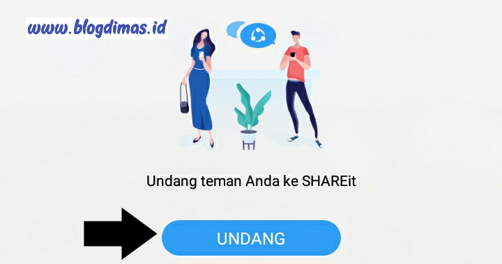 Cara Mengirim Share It Lewat Bluetooth