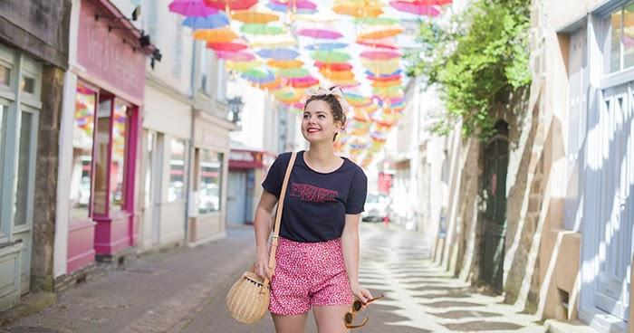 Les parapluies de Fresnay