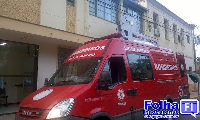 Resultado de imagem para bombeiros hospital itaocara
