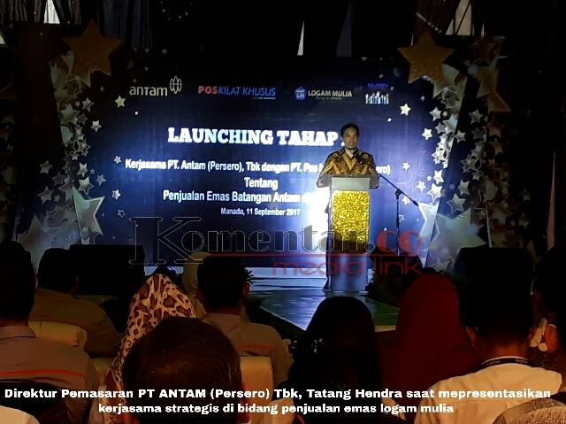 Pos Indonesia Gandeng Pt Antam Ajak Masyarakat Investasi Emas