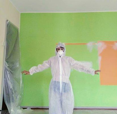 verniciare le pareti fai da te