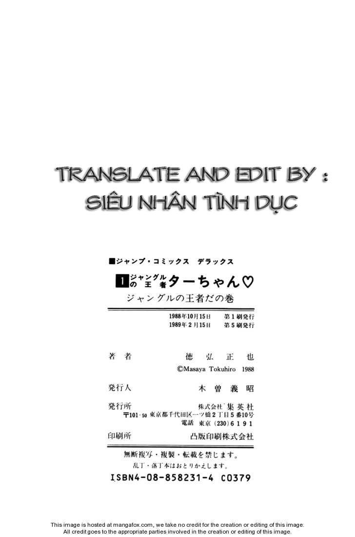 Chúa rừng Ta-chan chapter 16 trang 9