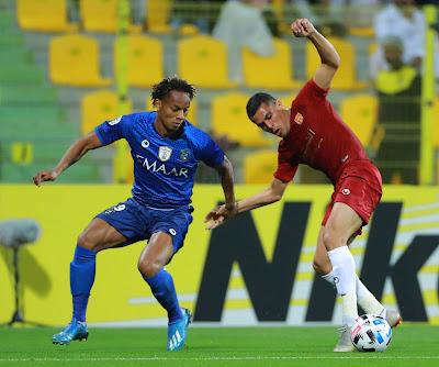 مشاهدة مباراة الهلال وشباب الأهلي دبي