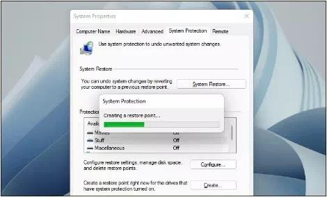 Cara Membuat System Restore Point di Windows 11 PC-5