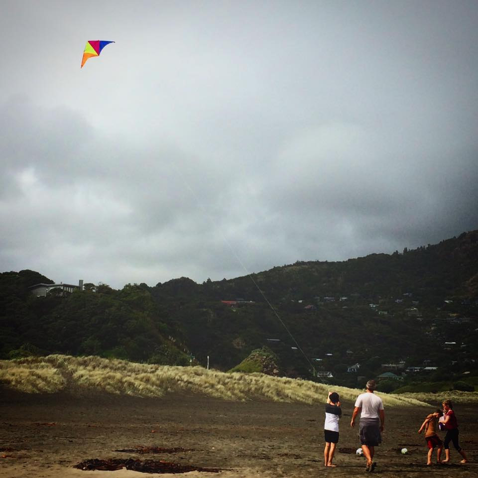 Flying a kite is a bit like parenting