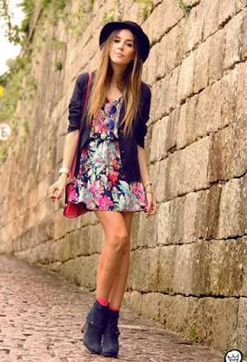 vestidos casuales cortos para flacas