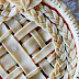 Idea: Pie crust inspiration /Inspiración para cubiertas de tartas