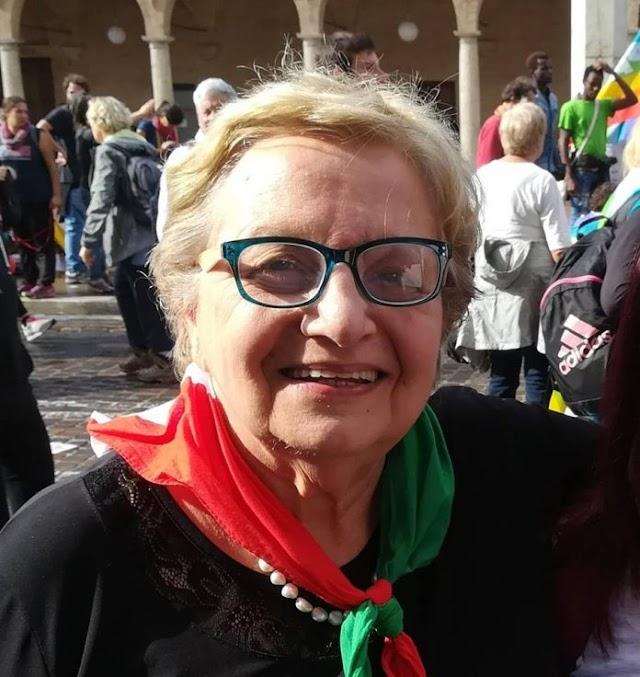 CI LASCIA CARLA NESPOLO, PRESIDENTE NAZIONALE DELL'ANPI