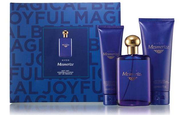 Avon Mesmorize men's fragrance gift set #ad