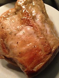 Lomo de cerdo a mi manera, preparación 2
