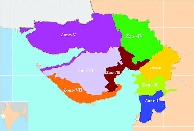 Agroclimatic Zones of Gujarat
