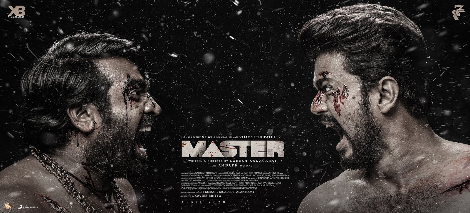 Thalapathy Vijay and Vijay Sethupathi's Master third look