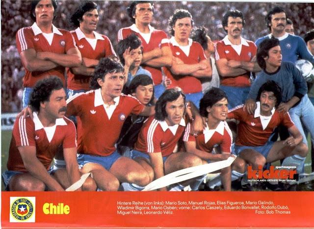 Formación de Chile ante Paraguay, Copa América 1979, 11 de diciembre