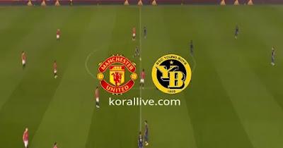 مباراة مانشستر يونايتد ويونج بويز