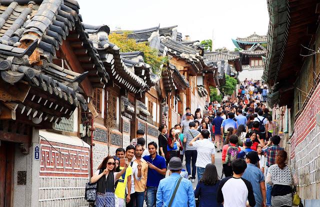 Khách du lịch việt Nam đến Hàn Quốc tăng 50% trong năm 2016