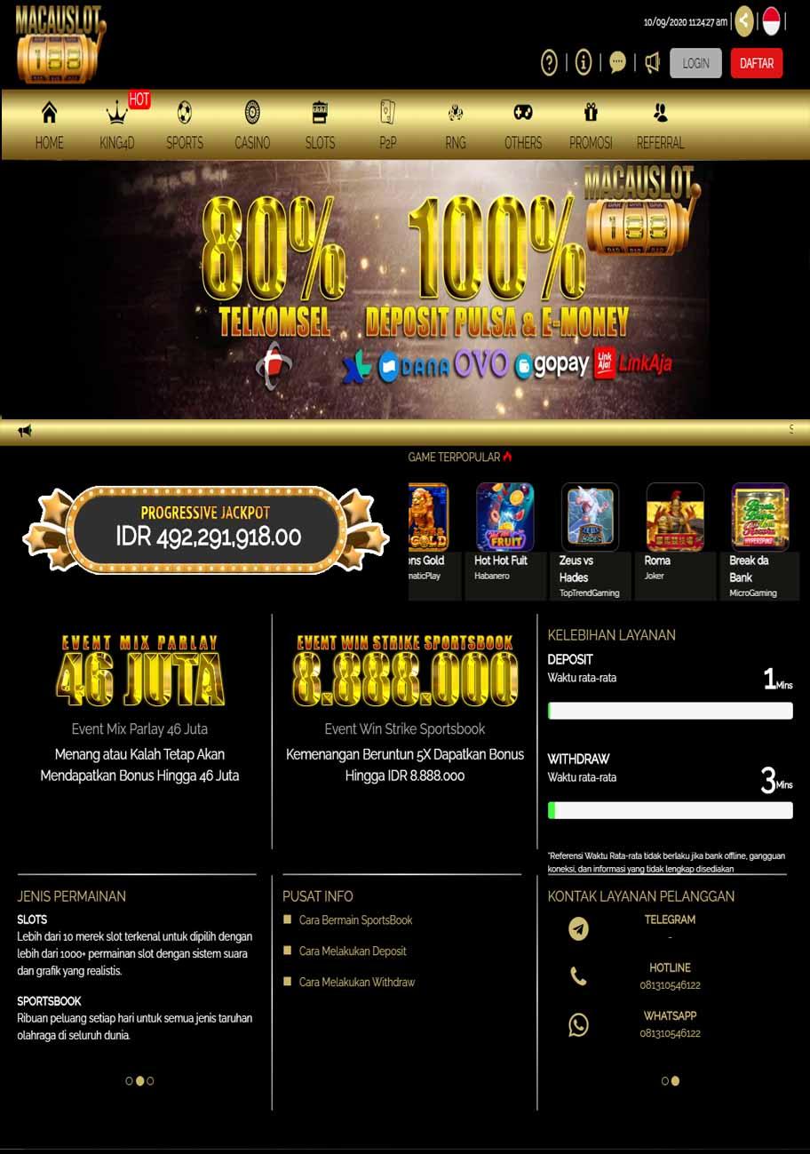 Macauslot188 Bandar Situs Judi Slot Online Pragmatic Terpercaya Indonesia Profile Diskusi Dan Laporan Pelaksanaan Apbdesa
