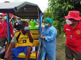 BIN Door to door Berikan Vaksin Covid-19 Kepada Warga di Deli Serdang