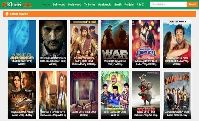 Khatrimaza Hollywood movies 2019 download, Bollywood Movies and New Domain Link