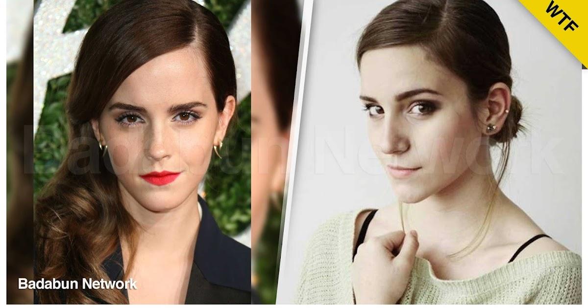 famosos identicos dobles selena gomez Emma Watson angelina jolie