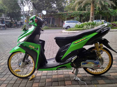 Modifikasi ThaiLook Mio M3
