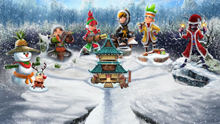 Fruit Ninja Mod Edisi Natal
