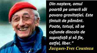 Maxima zilei: 11 iunie - Jacques-Yves Cousteau